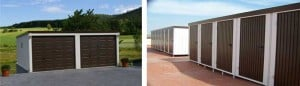 Trasteros y garajes metálicos prefabricados