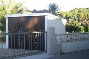 Garaje de jardín en Denia, Valencia