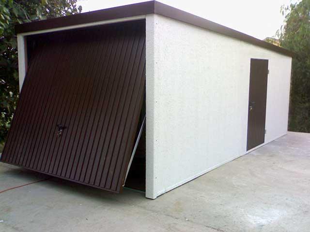 Garajes prefabricados amplia garajes met licos desmontables for Trastero jardin
