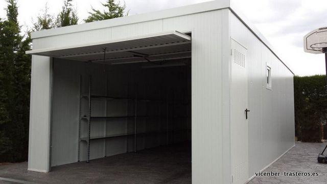 Garajes prefabricados amplia garajes met licos desmontables for Caseta de chapa desmontable