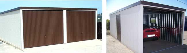 Garajes prefabricados trasteros prefabricados amplia - Garajes para coches ...