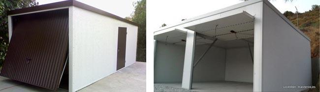 Garajes prefabricados amplia garajes met licos desmontables - Techos para garajes ...