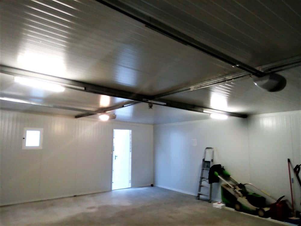 Interior almacén prefabricado