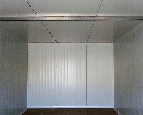 Viga interior garaje prefabricado