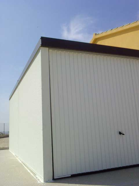 Garaje prefabricado. Alicante