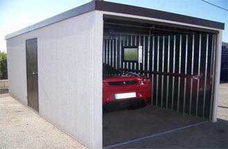 Fotos de garajes galer a de fotos de garajes amplia for Garaje metalico prefabricado