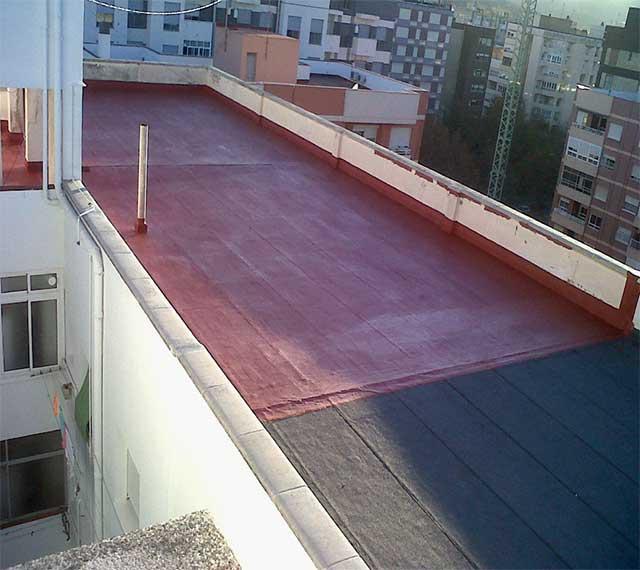 Impermeabilizacion de suelos de azoteas