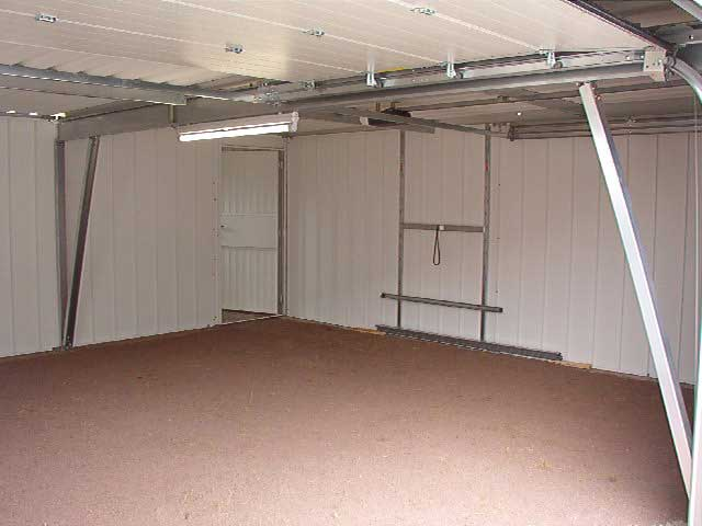 Interior garaje doble diáfano