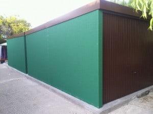 garajes verdes