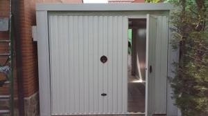 Puerta acceso garaje Madrid