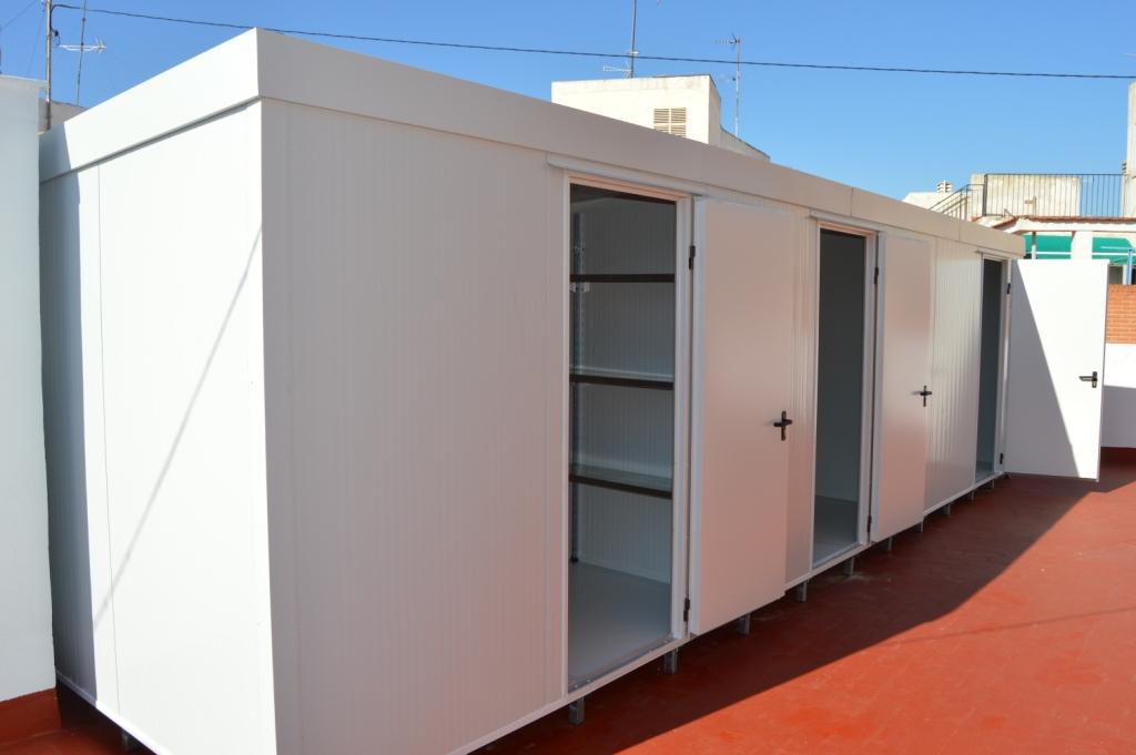 Montaje de Cuartos Trasteros en Murcia