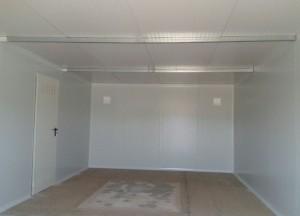 Interior almacén desmontable