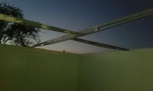Estructura refuerzo techo