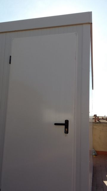 Detalle puerta trastero