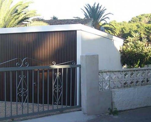 garaje de jardín Denia, Valencia