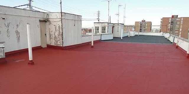 Impermeabilización de terrazas foto