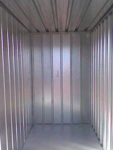 Interior del trastero prefabricado