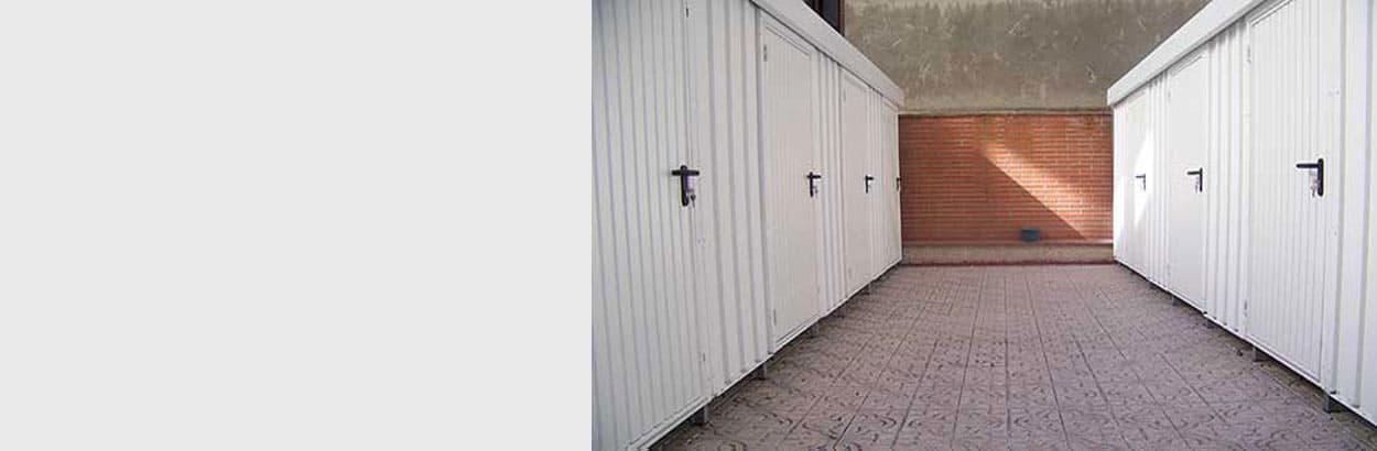 Trasteros Prefabricados de azoteas y terrazas