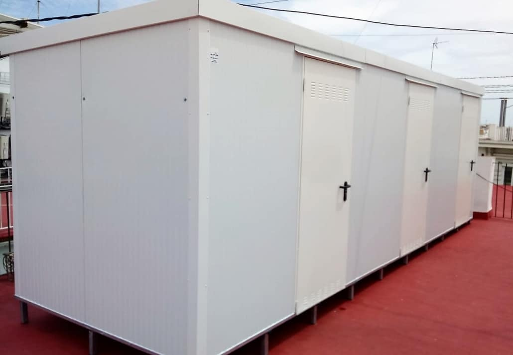 Montaje de trasteros modulares en Valencia