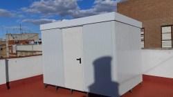 Instalación de trasteros prefabricados en Barcelona