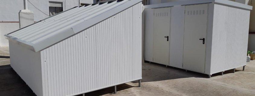 Instalación de trasteros modulares en Murcia