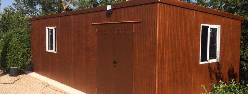 Instalación de almacén prefabricado en Valencia