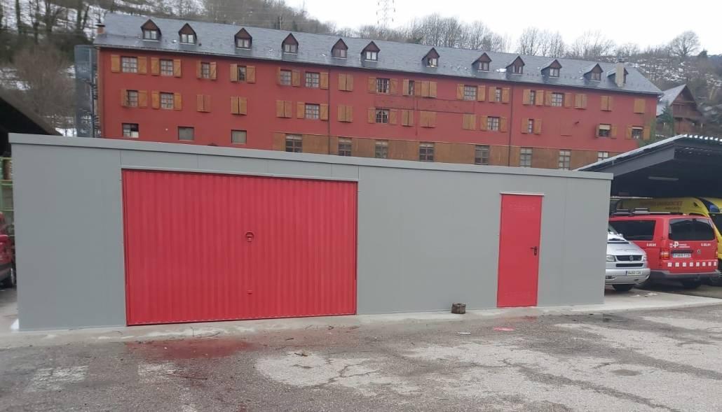 Instalación Garaje Prefabricado en Lérida