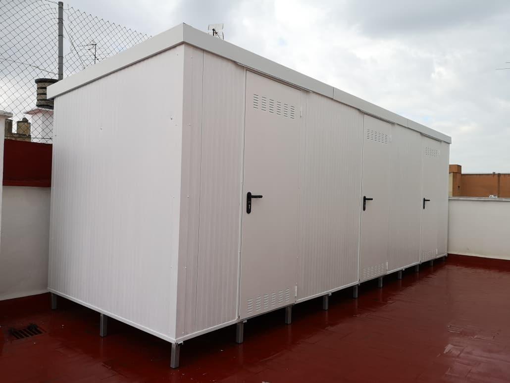 Instalación de Trasteros Metálicos en Comunidad Valenciana