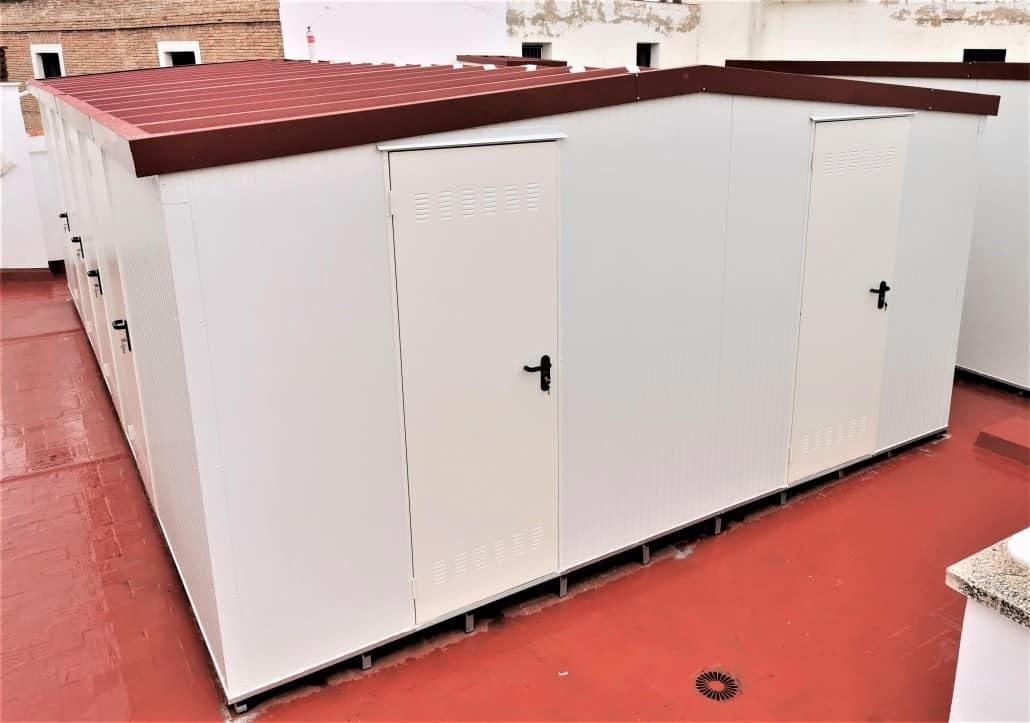 Instalación de Trasteros Prefabricados en Murcia