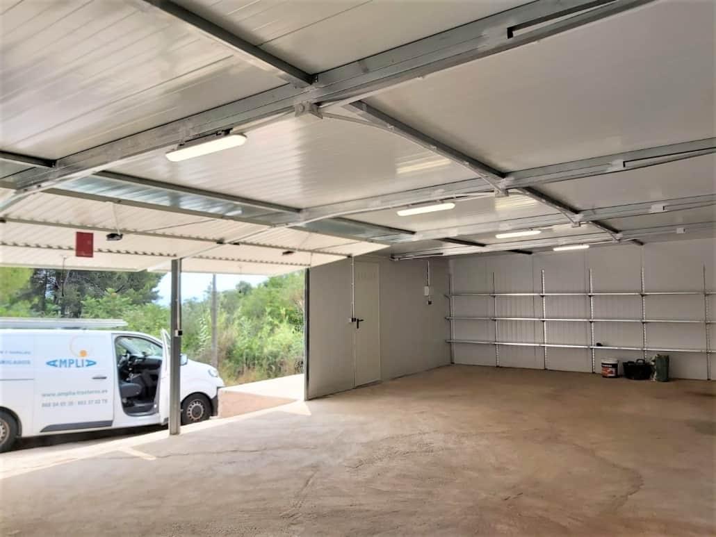 Instalación de Garaje Prefabricado en Barcelona