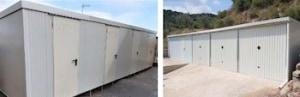 Trasteros prefabricados y Garajes prefabricados
