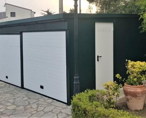 Instalación de Garaje Modular en Gerona